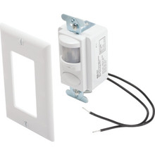 Dual Tech Occupancy Sensor - Infrared and Microphonics - White