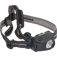 Rayovac Indestructible LED Headlight