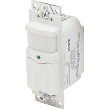 Vacancy Sensor,Passive Infrared,120 Volt 500W, White