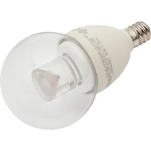 LED Bulb TCP 4W G16-1/2 (25W Equivalent) 2700K Candelabra Clear