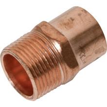 "Copper Male Adapter - 1/2"" x 3/4"""