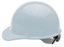 White Thermoplastic Hard Hat 3-R Ratchet