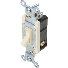 15 Amp 3-Way Wall Switch - Ivory - Package Of 10