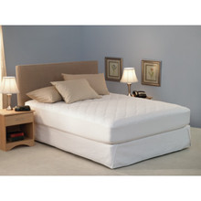 Choice Hotels Quilted Mattress Pad Fitted 60x80 Queen Case Of 6