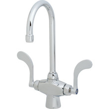 Chicago Faucets Commercial Lavatory Faucet Chrome Two Handle