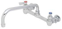 Fisher Service Faucet ChromeTwo Handle Wall Mount