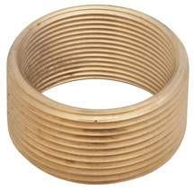 Watco Bathtub Drain Adapter Fine Thread Brass