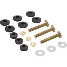 Kohler Toilet Tank Bolts and Gaskets Solid Brass Nuts and Bolts