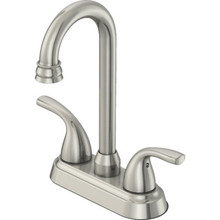 Seasons Anchor Point Bar Faucet Brushed Nickel Two Handle
