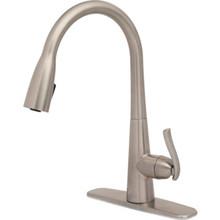 Seasons Gold Intesa Brushed Nickel Single Handle Pull Down Faucet