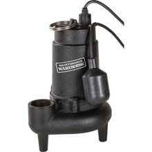 Maintenance Warehouse 3/4 HP Cast Iron Sewage Pump