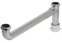 """Brass Tubular End Outlet Kit 1-1/2"""" x 16"""" Slip Joint 22-Gauge"""