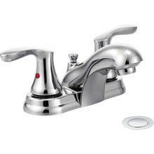 CFG Cornerstone Lavatory Faucet Chrome Two Handle With Pop-Up