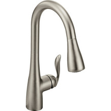 Moen Arbor Kitchen Faucet Stainless Steel Single Handle Pull-Down