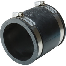 "Fernco Flexible Coupling For Fitting-To-Fitting Connection 4"" x 4"""