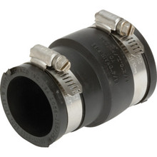 "Fernco Flexible Coupling For Pipe-To-Pipe Connection 1-1/2"" x 1-1/4"""