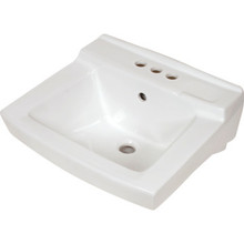 American Standard Declyn Wall Hung Lavatory Sink White China