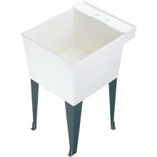 El Mustee Single Bowl Utility Tub