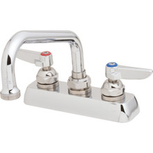 T&S Brass Workboard Faucet Chrome Two Handle