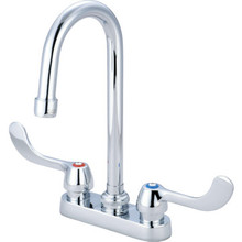 Central Brass Commercial Lavatory Faucet Chrome Two Handle
