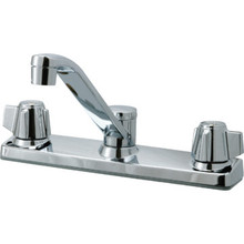 Aspen Kitchen Faucet Chrome Two Handle