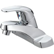 Aspen Lavatory Faucet Chrome Single Handle With Pop-Up
