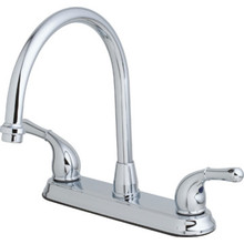 Seasons Raleigh Kitchen Faucet Chrome Two Handle With Spray