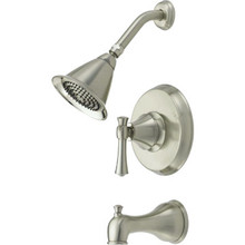 Seasons Gold Callabria Tub-Shower Trim Kit Brushed Nickel