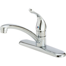 Moen Chateau Kitchen Faucet Chrome Single Handle With Spray