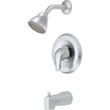 Moen Posi-Temp Tub-Shower Trim Kit Brushed Chrome