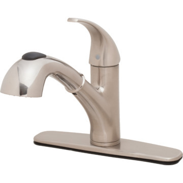 Seasons Anchor Point Kitchen Faucet Brushed Nickel Single Handle