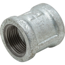 """Galvanized Malleable Coupling 3/4"""" x 3/4"""""""