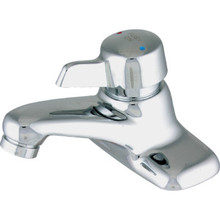 Symmons Metering Faucet Chrome Single Handle