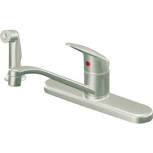 CFG Cornerstone Kitchen Faucet Stainless Steel Single Handle With Spray