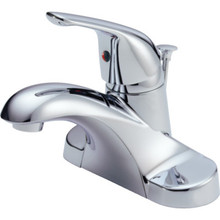 Delta Foundations Core B Lavatory Faucet Chrome Single Handle With Pop-Up
