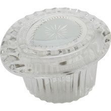 Replacement For Moen Chateau Hot/Cold Shower Handle Clear