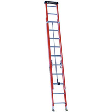 Louisville Ladder 20 Foot Fiberglass Extension Ladder With Pro Top