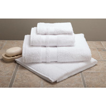 Best Western Plus Green Bath Towel Dobby 27x50 14 Lbs/Dozen White Case Of 36