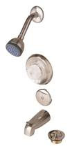 Mixet Tub-Shower Trim Kit Satin Nickel