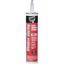 10.1 Oz DAP Latex Window Glazing (RTU) 12/Cs