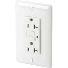 20 Amp Circuit Guard Pro GFCI Receptacle - White