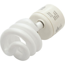 Integrated Compact Fluorescent Bulb Philips 18W 4100K Twist GU24 Base
