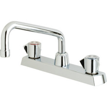Sayco Kitchen Faucet Chrome Two Handle With Spray