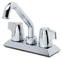 Moen Laundry Faucet ChromeTwo Handle Sani-Stream