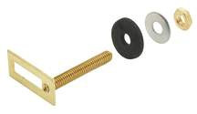 """Toilet Tank Bolts 5/16"""" x 2"""" Solid Brass Bolts and Nuts Adjustable Package Of 4"""