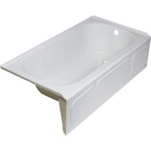 American Standard Acrylux Bathtub Left Hand Drain