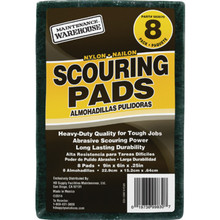 Maintenance Warehouse Nylon Scouring Pad Package Of 8