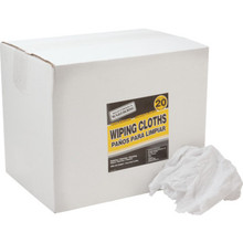 Maintenance Warehouse White Sheet Wipers Box Of 20 Pounds