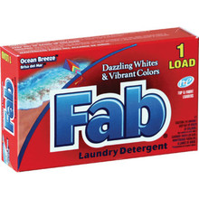 Laundry Detergent, 1 Ounce Fab Powder Case Of 156