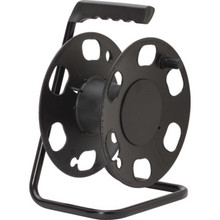 Cord Reed Storage Wheel with Stand- 100' Capacity - Black
